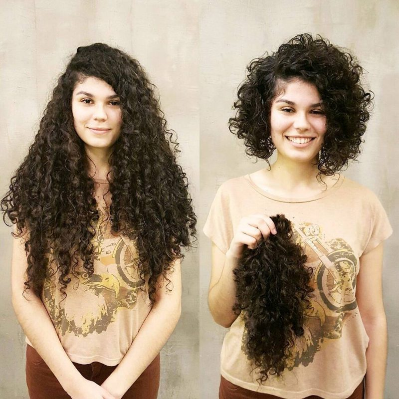 8 43 800x800 - 20 фото людей «до и после» того, как они обрезали свои длинные волосы