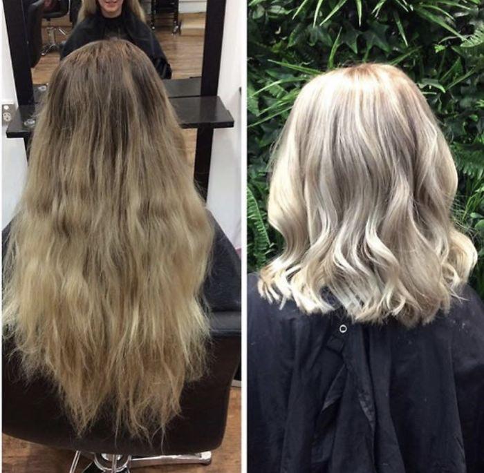 IMG 1672 5968db8113de1  700 - 20 фото людей «до и после» того, как они обрезали свои длинные волосы