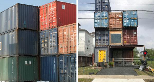 Американец построил роскошный дом своей мечты из 11 морских контейнеров