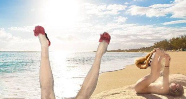 Быть здоровым не ленитесь — попой к солнцу повернитесь! Американка утверждает, что ее ритуал заряжает энергией