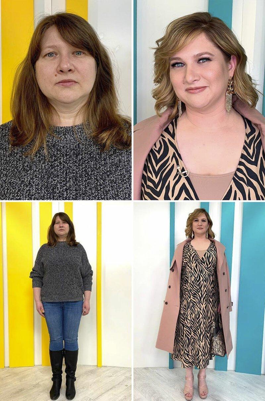 Фото до и после в мире моды