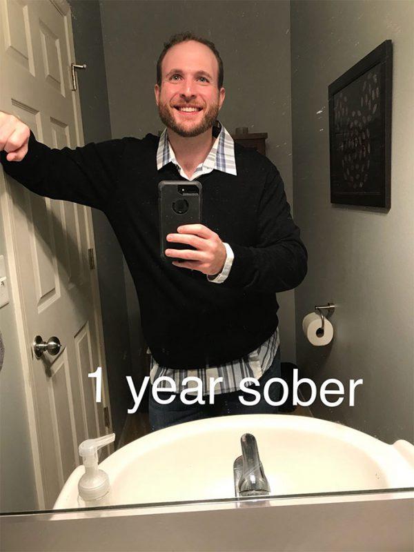 Бывший алкоголик показал, как изменился за 3 года трезвости, и его результат просто впечатляет!