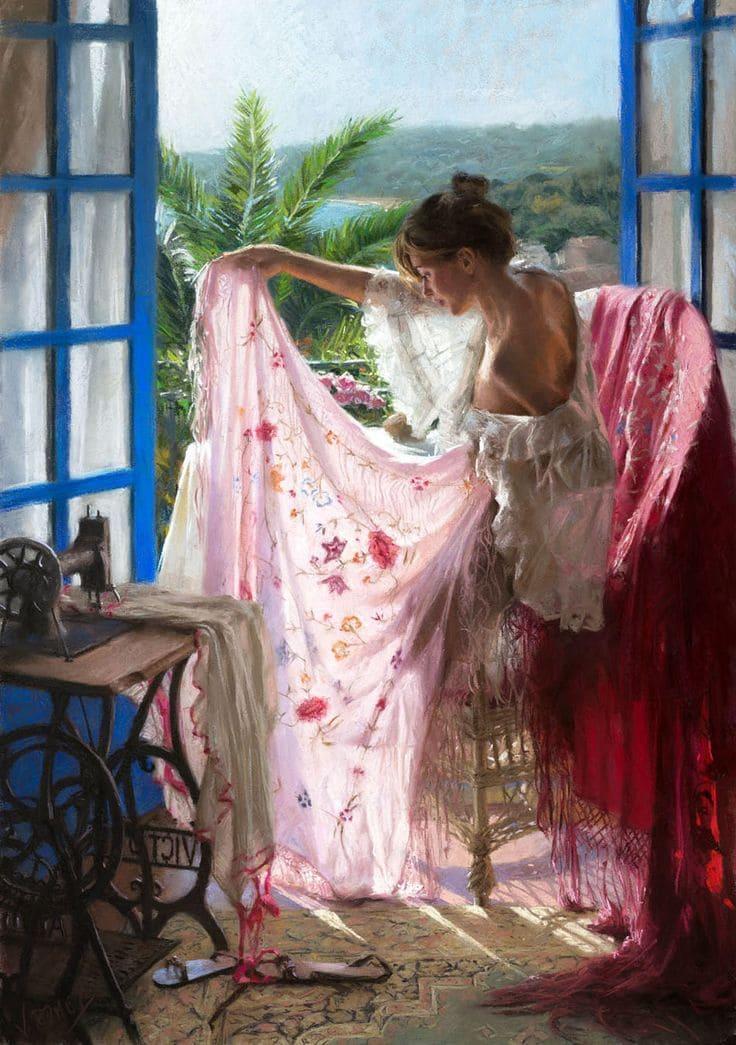 Испанец Висенте Ромеро Редондо — единственный в мире художник, который умеет рисовать свет