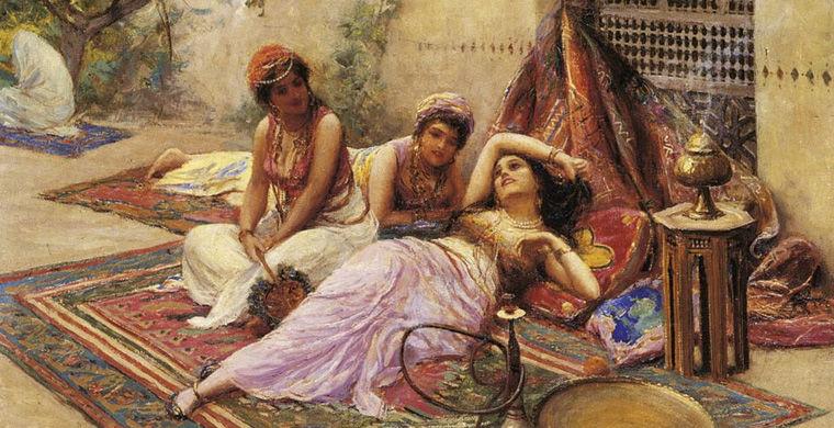 Арабские поэтессы кайны: рабыни, покорявшие великих халифов