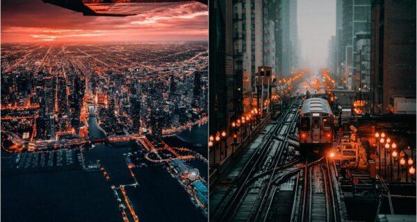 Невероятные улицы Чикаго на снимках Бенджамина Сутера