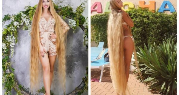 Коса-краса: длинноволосая украинка стала объектом вожделения тысяч мужчин
