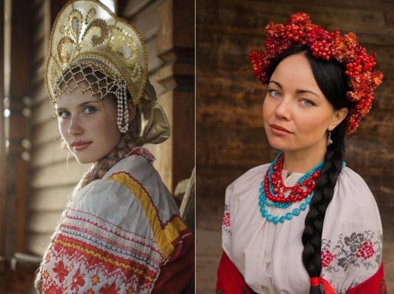 В чем отличие русских женщин от украинок фото