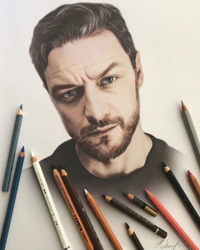 Картинки как рисует человек