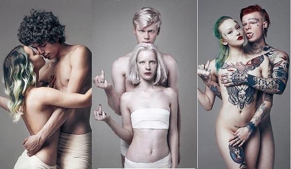 «Одетые в любовь»: фотопроект, показывающий, что брак не разрушает индивидуальность, а усиливает её фото