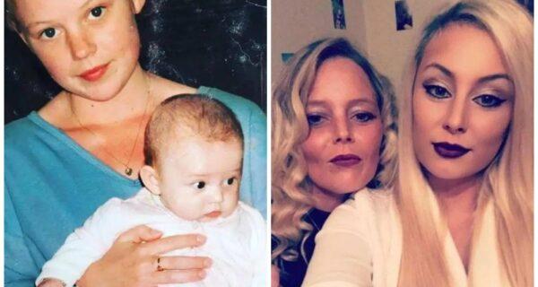 Молодая, озорная: 38-летнюю бабушку из Ирландии принимают за старшую сестру дочери