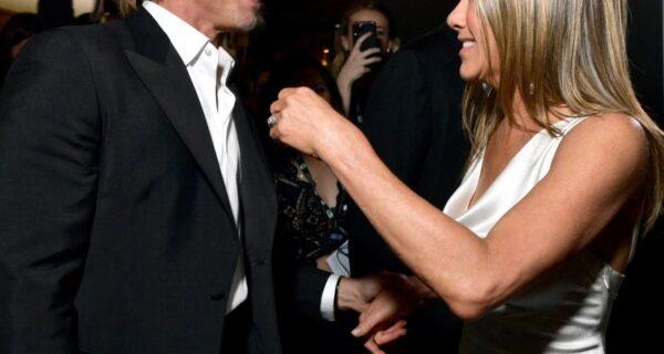 Дженнифер Энистон поделилась восторгом о незабываемой ночи после воссоединения с Брэдом Питтом