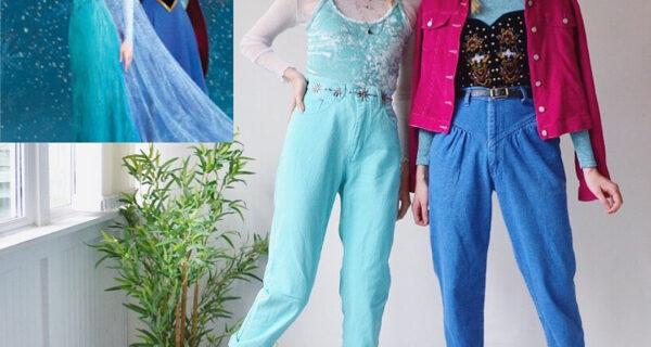 Близнецы из Лондона одеваются как современные версии известных мультперсонажей