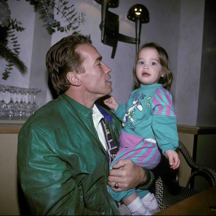 11 фотографий, которые доказывают, что Арнольд Шварценеггер не просто звезда, он  —  сказочный папа знаменитости,звезды,известные люди,Знаменитости