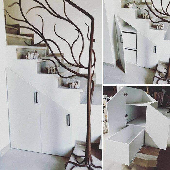 35 хитрых дизайнерских решений для дома, которые помогут сэкономить место