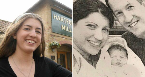 Девушка, родившаяся в пабе, вернулась 18 лет спустя