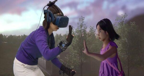 Технологии позволили женщине из Южной Кореи пообщаться с умершей дочерью