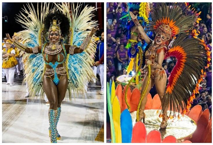 Буйство красок и эмоций: в Рио-де-Жанейро стартовал ежегодный карнавал фото