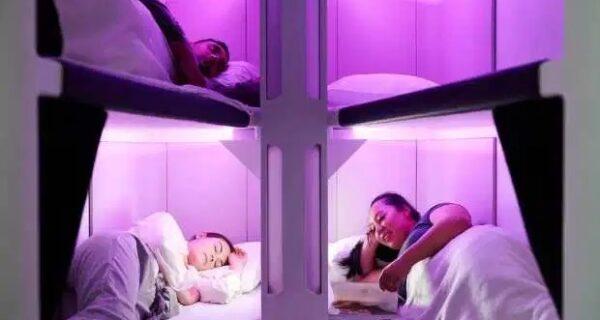 Небесный плацкарт: пассажиры экономкласса новозеландских авиалиний смогут полежать во время полета