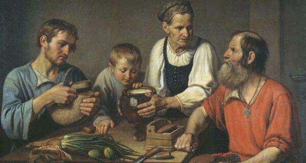 «Хлеб и вода — наша еда»: что и как ели в русских деревнях в конце XIXвека