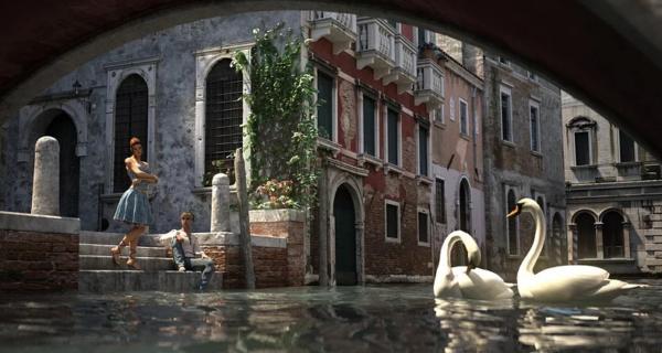 Природа восстанавливает баланс: в каналы Венеции вернулись лебеди ирыба