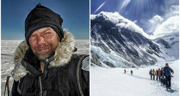 Пожарный бросил работу и отправился в экстремальные путешествия на Северный полюс и в Гималаи