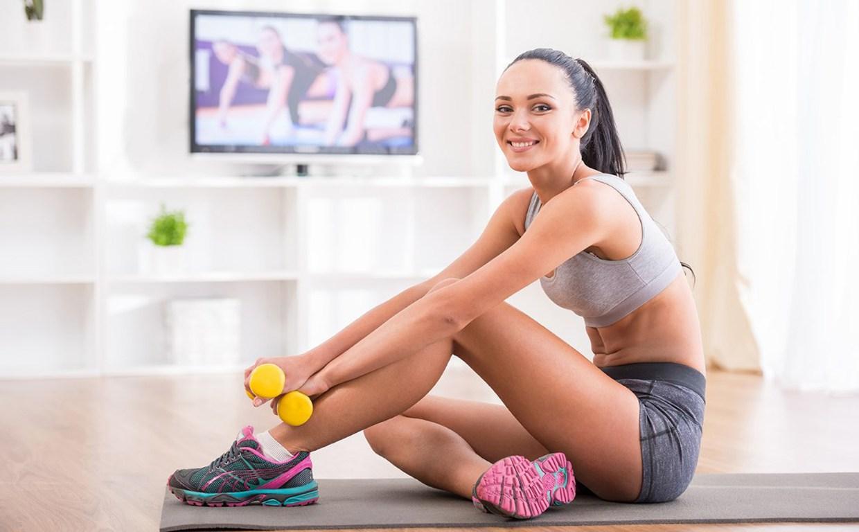 Как похудеть в домашних фитнес
