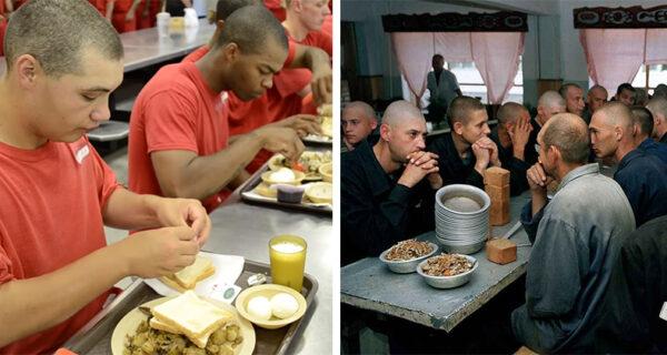 Тюремные разносолы: чем кормят заключенных в США и России