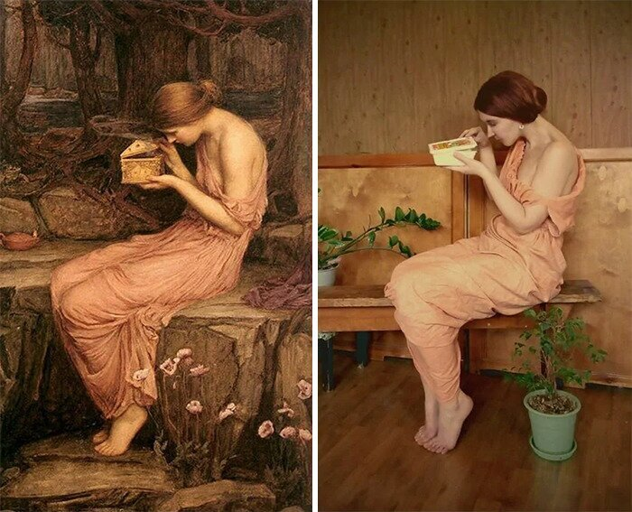 Russians Keep Cosplaying Famous Art