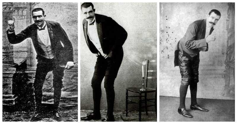Жозеф Пужоль — самый известный пердун вмире