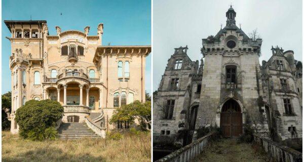 Красота заброшенных замков в объективе Jahz Design