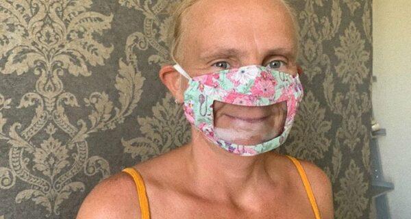 Зачем нужны специальные маски с прозрачным окошком