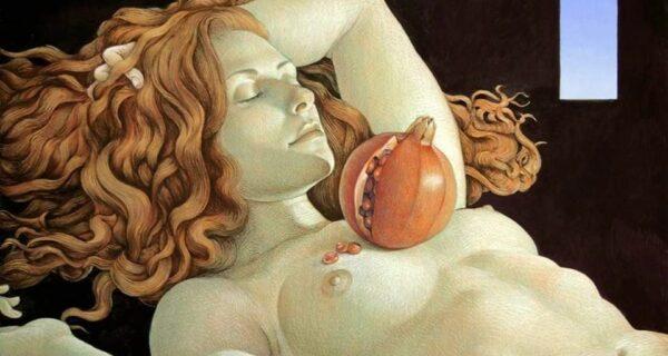Двойной смысл картин Майкла Бергта: от восточной классики к западному сюрреализму