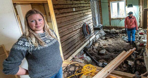 Жительница Норвегии нашла могилу в своей спальне и получит за это деньги