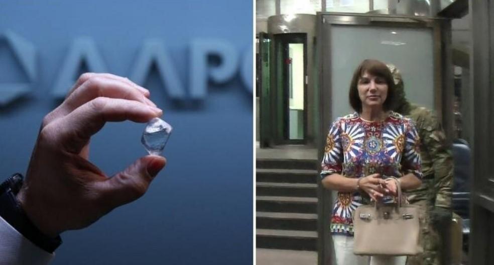 Бриллиантовые трусы: сотрудница «Алросы» вынесла в нижнем белье алмазов на 300 млн рублей фото