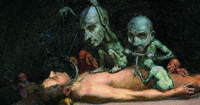 Художник, что рисует смерть: Ричард Теннант Купер и его чумные фантазии фото