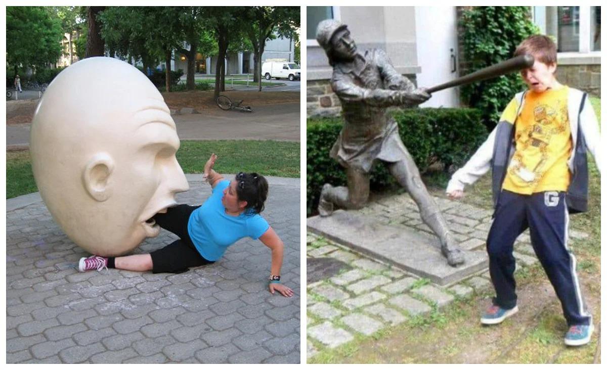 22 примера того, как памятники наносят людям ответный удар фото