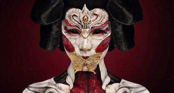 Впечатляющий боди-арт со спецэффектами от японского SFX художника Amazing Jiro