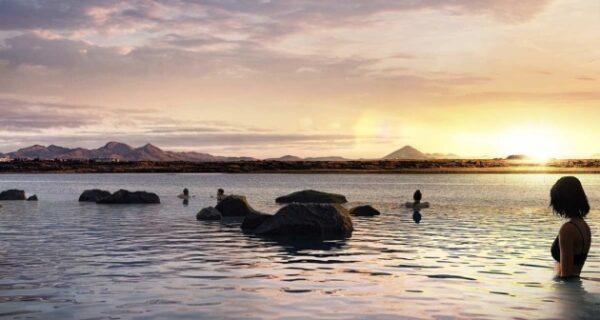 В Исландии на полуострове Карснес строят геотермальную лагуну с видом наокеан