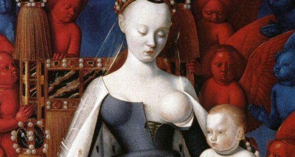 Прекрасная Агнесса: как выглядела в жизни фаворитка короля, изображенная на Меленском диптихе
