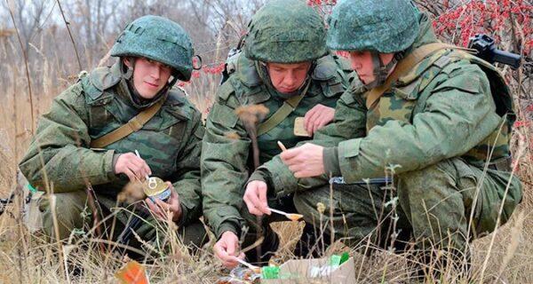 14 армейских сухпайков из разных странмира