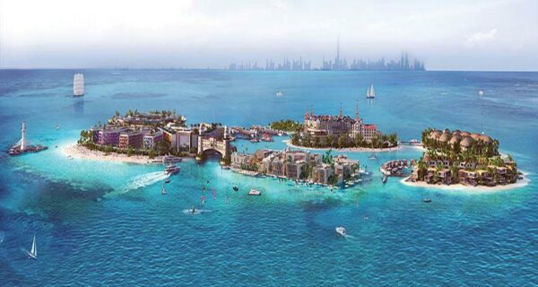 В Дубае строят миниатюрную Европу на шести островах за 5 миллиардов долларов