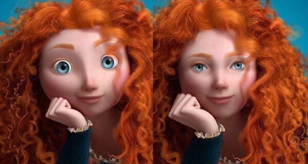 10 героев из мультфильмов Disney с более реалистичными лицами