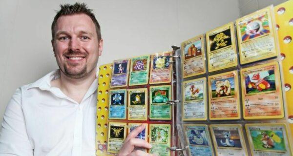 Коллекцию карточек Pokemon, принадлежащую британцу, оценили в 35 000 фунтов