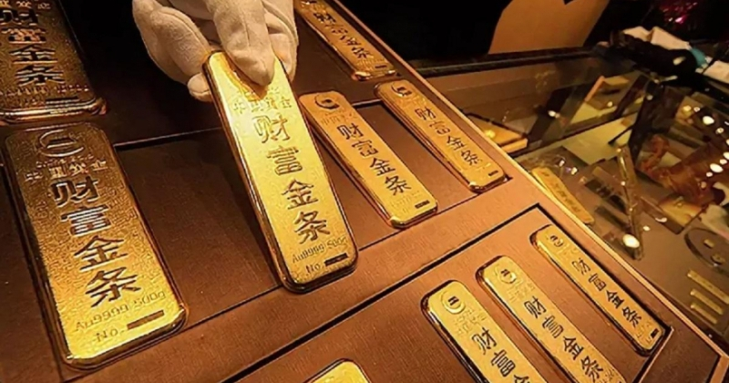 В Китае подделали 83 тонны золота и теперь ценность золотого запаса страны под вопросом фото
