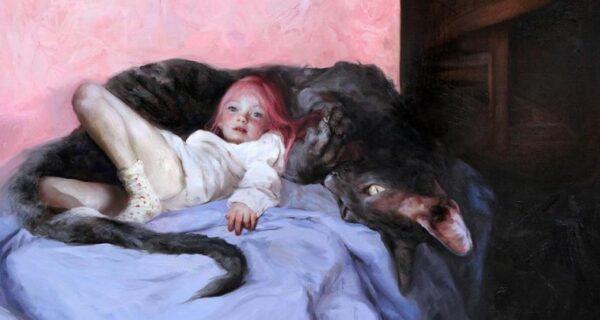 Детские грезы и кошмары в картинах художника Гильермо Лорки