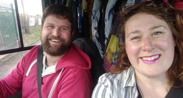 Путь свободы: пара из Британии живет в микроавтобусе, вот уже два года колеся по Европе