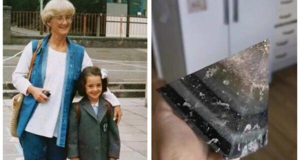 Шотландка сделала блестящую пирамиду из праха своей бабушки