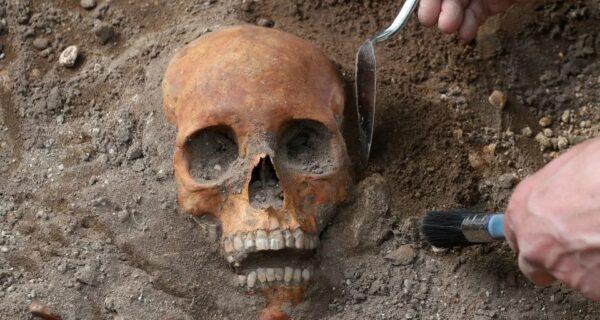При расширении трамвайной линии в Эдинбурге обнаружили 700-летние человеческие скелеты
