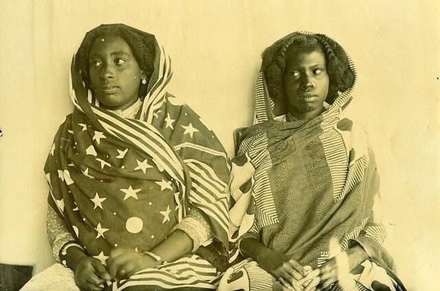 Прически женщин Мадагаскара