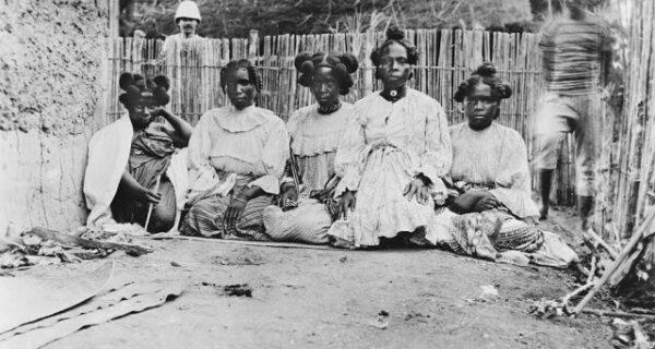Прически женщин Мадагаскара как отдельный вид искусства
